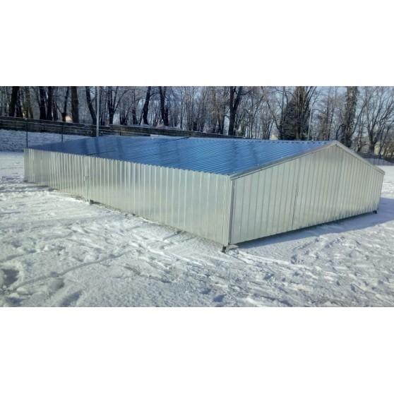 Garaż na zeskok do skoków za metr