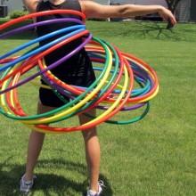 hula hop 80 cm
