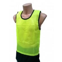 Żółty znacznik treningowy fluorescencyjny z lamówką Legend