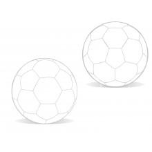 Piłka nożna treningowa reklamowa poz grafiką  panele nr.5
