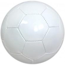 Piłka nożna biała pod nadruk promocyjny dla firm