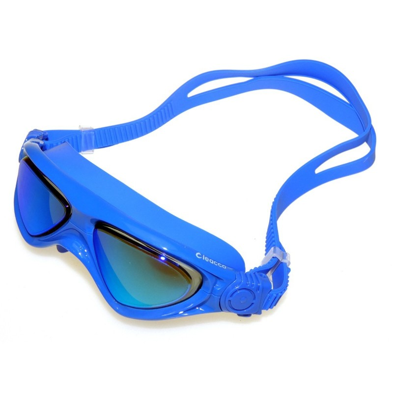 Niebieskie okulary pływackie na basen Legend MC1560