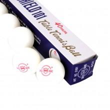 Piłeczki do tenisa stołowego Shield 101 6 szt białe