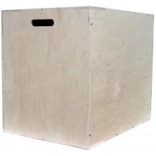 Duża skrzynia plyometryczna Cross Jump Box o wymiarach 70 cm x 60 cm x 50 cm marki Legend