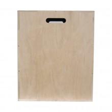 Skrzynia plyometryczna Cross Jump Box o wymiarach 60 cm x 50 cm x 40 cm marki Legend