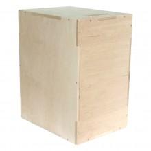 Mała skrzynia plyometryczna Cross Jump Box o wymiarach 50 cm x 40 cm x 30 cm marki Legend