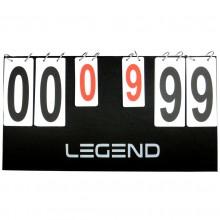 Tablica wyników dwustronna rozkładana Legend