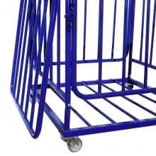 Wózek na piłki metalowy zamykany Legend