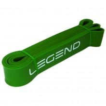 Taśma treningowa Power Band opór 23-57 kg 4,5 cm zielona Legend