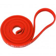 Taśma guma treningowa Power Band 1,3 cm czerwona Legend
