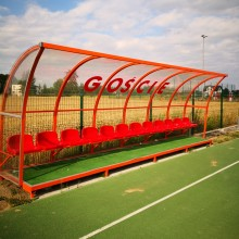 Wiaty z ławką rezerwowych na boisko piłkarskie Legend