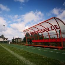 Wiata z ławką rezerwowych na boisko sportowe Legend