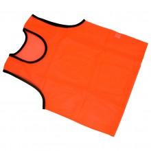 Pomarańczowy znacznik treningowy fluorescencyjny obszyty lamówką marki Legend