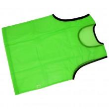 Zielony znacznik treningowy fluorescencyjny obszyty lamówką marki Legend