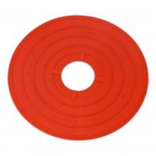 Zestaw 24 czerwonych markerów znaczników podłogowych marki Legend