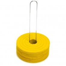 Zestaw 24 żółtych markerów znaczników podłogowych marki Legend