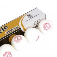 Piłeczki do tenisa stołowego białe marki Double Circle