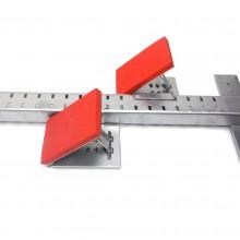 Blok startowy metalowy regulowany Universal