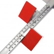 Blok startowy treningowy metalowy regulowany Universal
