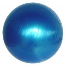 Piłka do ćwiczeń fitness niebieska z PVC Legend