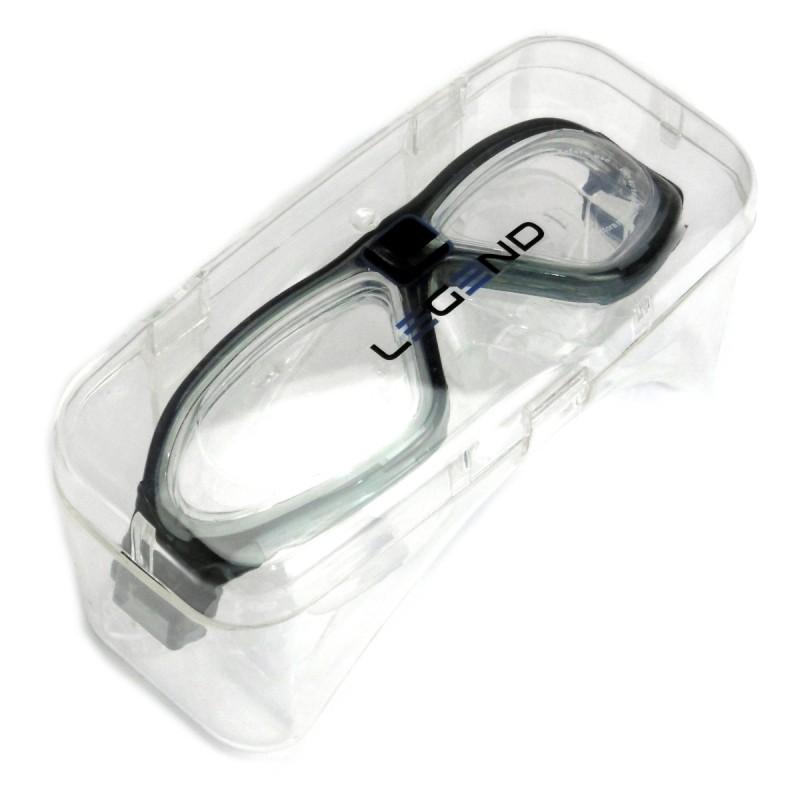 Okulary ochronne typu maska z silikonową uszczelką Legend
