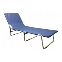 Aluminiowe łóżko polowe składane 3 poziomy zagłówka