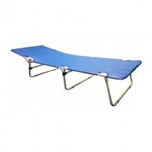 Aluminiowe łóżko polowe składane obszycie do dezynfekcji