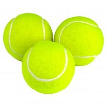 Piłka tenisowa zielona 3 szt pod nadruk