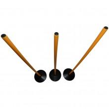 Tyczka treningowa 120 cm z podstawą gumową 0,7 kg Legend