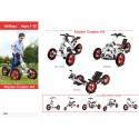 Rowerek modułowy dla dzieci 16w1