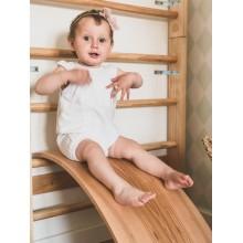 Dębowa deska do balansowania dla dziecka