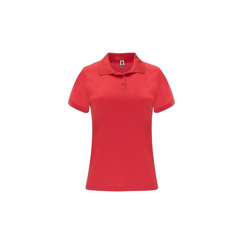 Damska koszulka polo z krótkim rękawem MONZHA WOMAN Roly