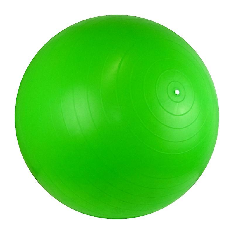 Piłka gimnastyczna dmuchana średnica 60cm PCV z pompką Legend