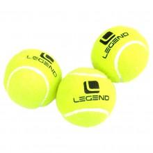 Piłka do tenisa ziemnego zielona 3 szt Legend