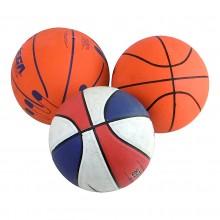 Mix piłek do piłki nożnej ręcznej siatkówki i koszykówki