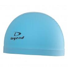 Jasnoniebieski czepek pływacki dwuwarstwowy Legend