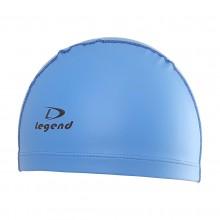 Niebieski czepek pływacki dwuwarstwowy Legend